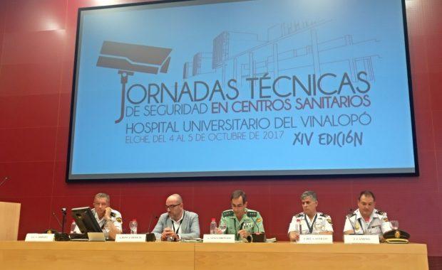 XIV jornadas técnicas de seguridad en centros sanitarios
